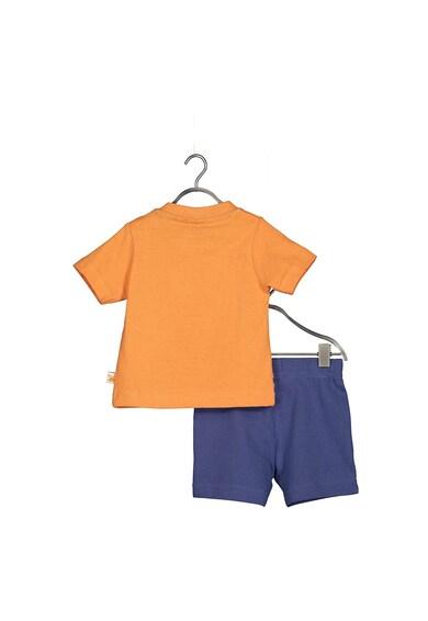 Blue Seven Set de tricou si pantaloni scurti cu imprimeu maritim Baieti