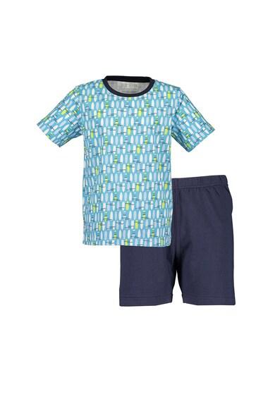Blue Seven Pijama scurta cu imprimeu grafic Baieti