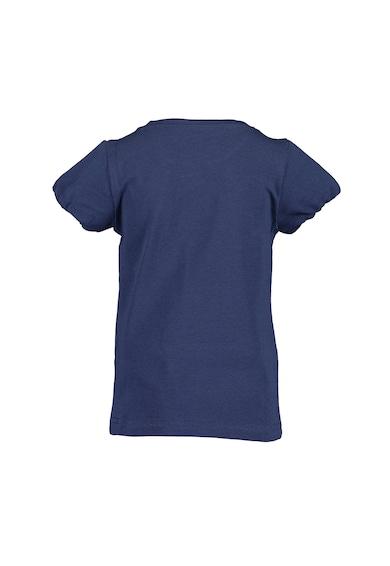 Blue Seven Tricou cu imprimeu grafic si maneci bufante Fete