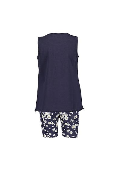 Blue Seven Set de top si pantaloni sport cu imprimeu floral Fete