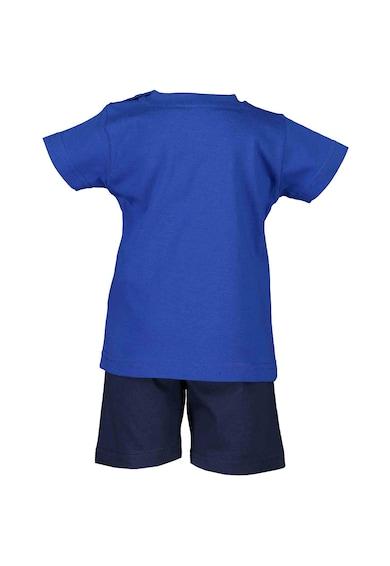 Blue Seven Set de tricou si pantaloni scurti, 2 piese, baieti, cu imprimeu Baieti