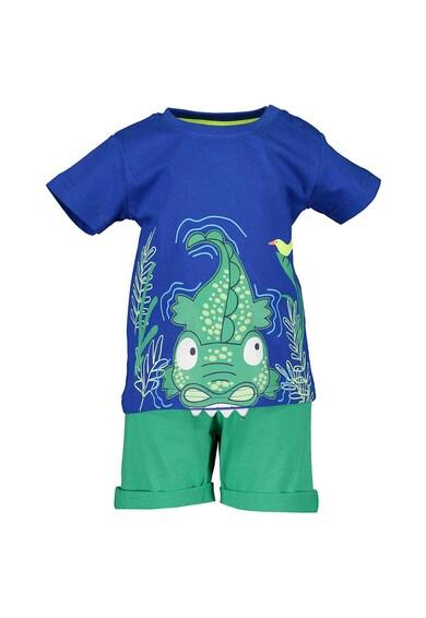 Blue Seven Set de tricou cu maneca scurta si pantaloni scurti, 2 piese, baieti, cu imprimeu Baieti