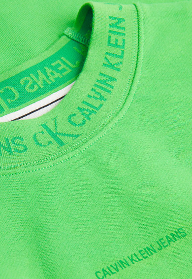 CALVIN KLEIN JEANS Bluza sport de bumbac organic cu logo Barbati