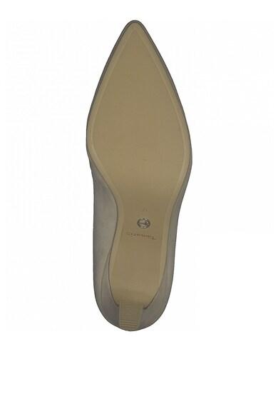 Tamaris Pantofi din piele nabuc cu varf ascutit Femei