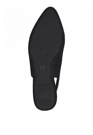 Tamaris Pantofi slingback de piele ecologica cu toc masiv Femei