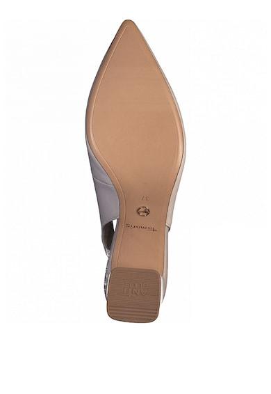 Tamaris Pantofi slingback de piele cu varf ascutit Femei
