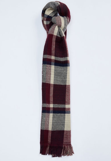 DeFacto Fular tricotat fin cu model in carouri Femei