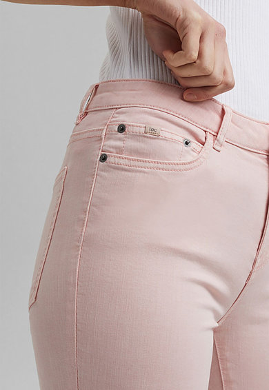EDC by Esprit Pantaloni skinny din amestec de bumbac organic Femei