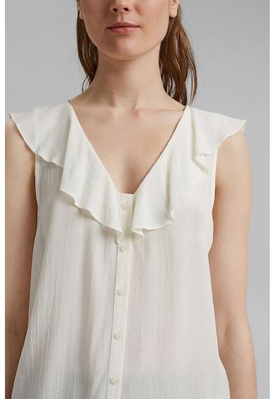 Esprit Bluza fara maneci cu model uni Femei