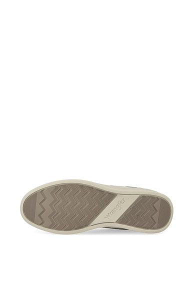 Wrangler Pantofi sport de piele ecologica si plasa tricotata Micky Barbati