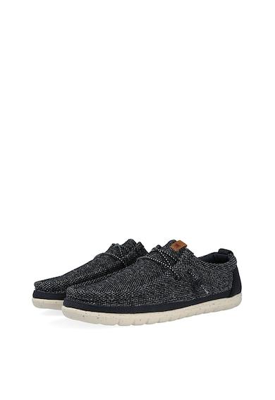 Wrangler Pantofi casual de material textil cu spuma cu memorie Wallabee Barbati