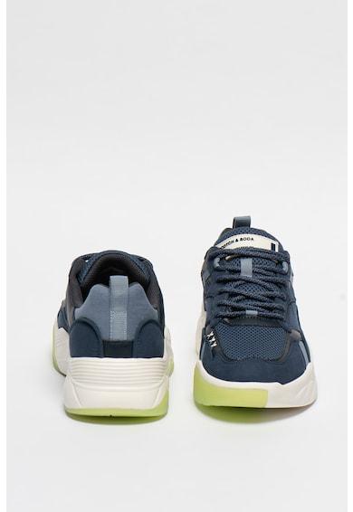 Scotch & Soda Pantofi sport cu insertii de piele ecologica Cassius Barbati