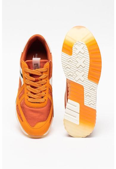 Scotch & Soda Pantofi sport din piele si piele intoarsa Vivex Barbati