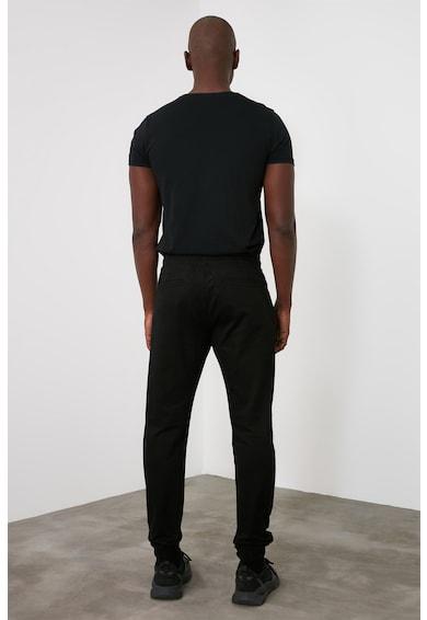 Trendyol Pantaloni sport din amestec de bumbac cu snur de ajustare Barbati