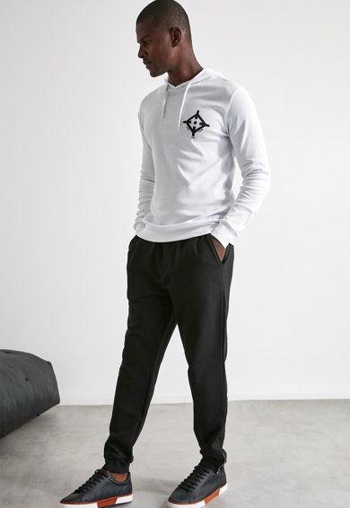 Trendyol Pantaloni sport cu slituri cu fermoar Barbati