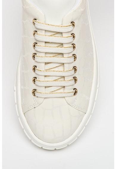 Tosca Blu Pantofi sport din piele cu aspect texturat Femei