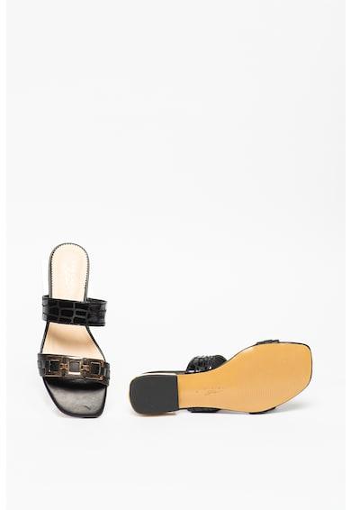Tosca Blu Papuci din piele cu garnituri din piele Onice Femei