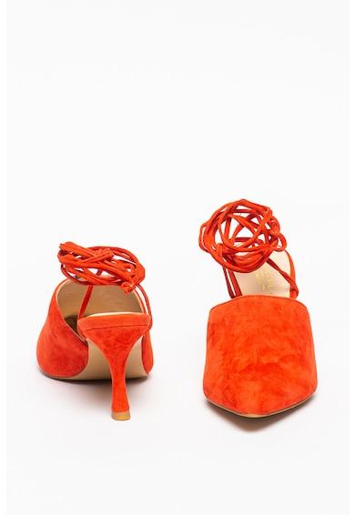 Tosca Blu Pantofi din piele intoarsa cu snururi Giada Femei