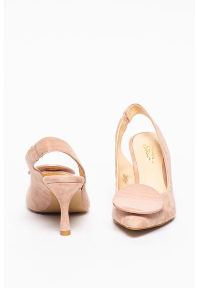 Tosca Blu Pantofi slingback din piele intoarsa cu varf ascutit Giada Femei
