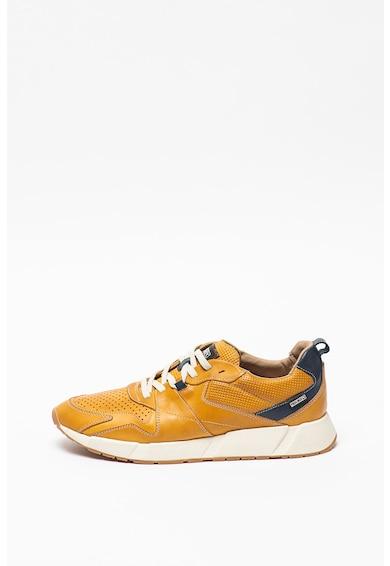 Pikolinos Pantofi sport de piele cu detalii perforate Meliana Barbati