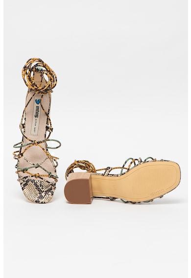 MTNG Sandale cu toc masiv Megris Femei