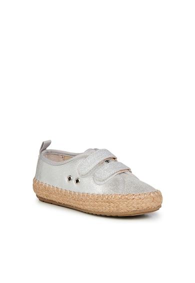 Emu Pantofi luciosi din piele intoarsa cu inchidere velcro Millner Fete
