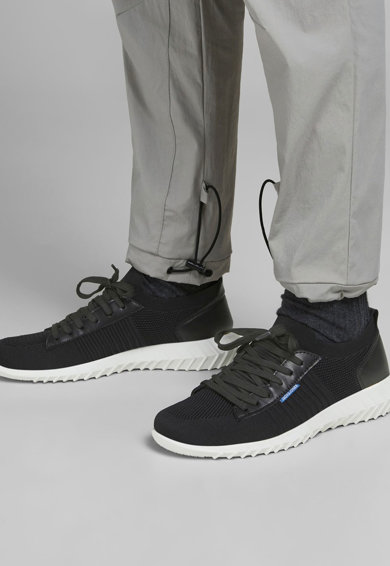Jack&Jones Pantofi sport din plasa tricotata cu aspect striat Barbati