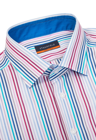 Stansfield Camasa relaxed fit in dungi Barbati