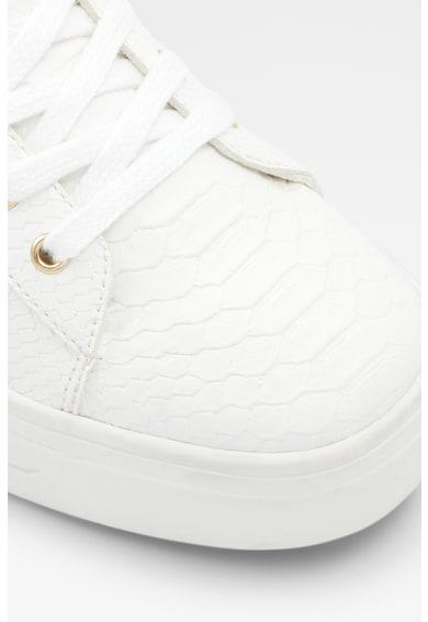 Aldo Pantofi sport flatform de piele ecologica Astalewen Femei