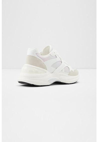 Aldo Sneakers, Pantofi sport wedge de piele ecologica Koisa Femei
