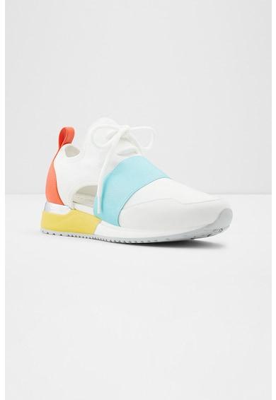 Aldo Pantofi sport slip-on cu model colorblock si decupaje Dwiedia Femei