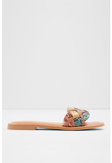Aldo Papuci de piele ecologica cu aspect de piele de sarpe Lothelalian Femei