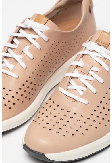 Clarks Pantofi sport de piele cu perforatii Rio Femei