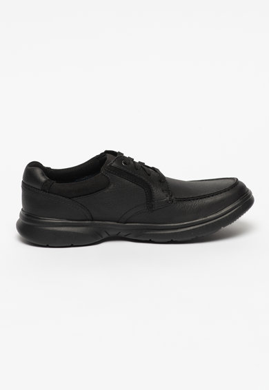 Clarks Pantofi de piele cu insertii textile Bradley Vibe Barbati
