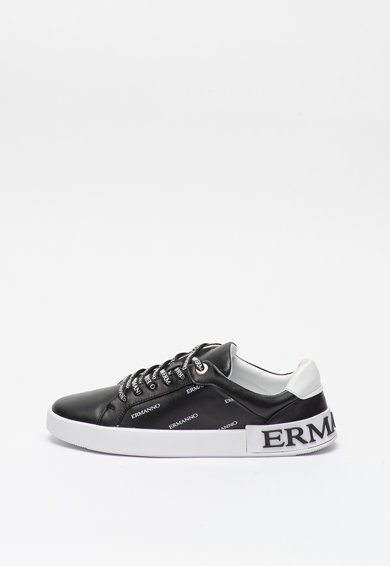 Ermanno Scervino Pantofi sport de piele cu detalii logo Femei