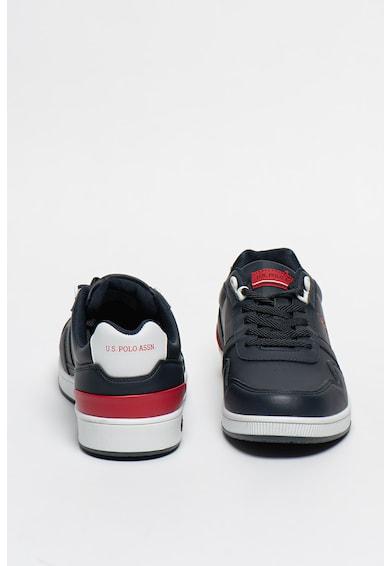 U.S. Polo Assn. Pantofi sport de piele ecologica Laci Barbati