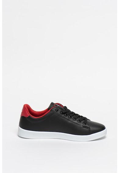 U.S. Polo Assn. Pantofi sport de piele ecologica Franco Femei