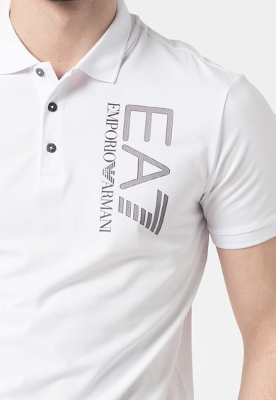 EA7 Tricou polo cu logo Barbati