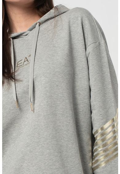 EA7 Hanorac lejer cu detalii metalizate Femei