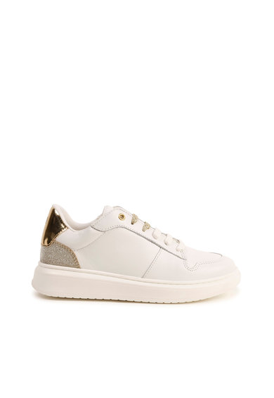 Boss Hugo Boss Pantofi sport de piele cu garnituri stralucitoare Fete