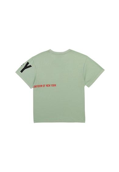 DKNY Tricou de bumbac cu imprimeu logo Baieti
