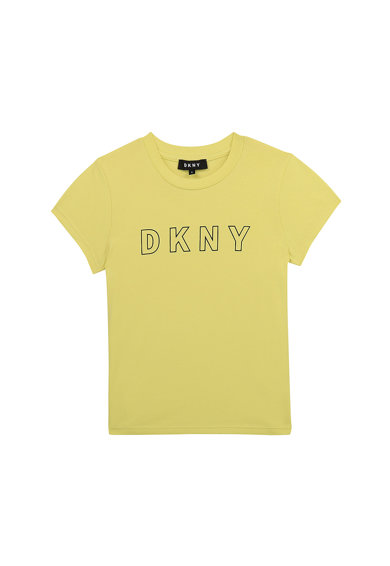 DKNY Tricou cu imprimeu logo Fete