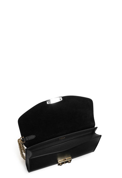 Furla Portofel din piele cu bareta din lant pentru incheietura Metropolis Femei