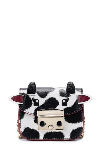 Furla Geanta crossbody mini din piele cu imprimeu Femei
