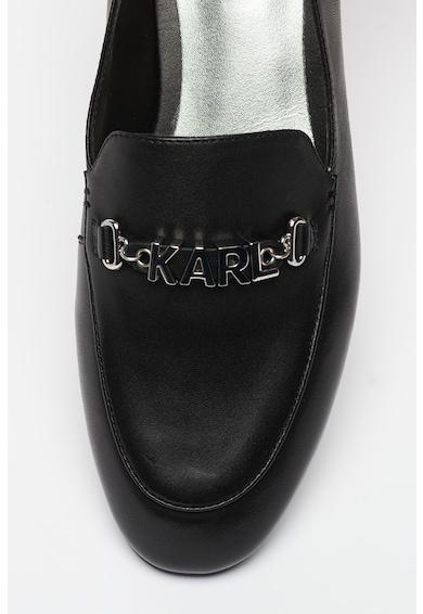 Karl Lagerfeld Pantofi loafer de piele Regency Femei