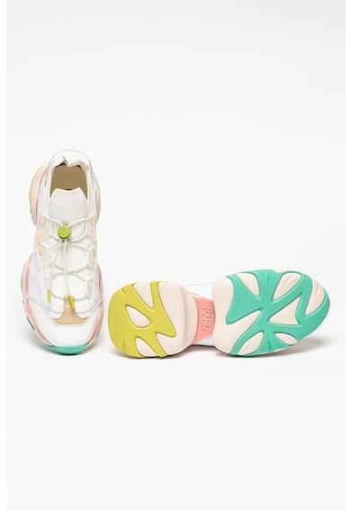 Karl Lagerfeld Кожени спортни обувки Gemini с текстил Жени