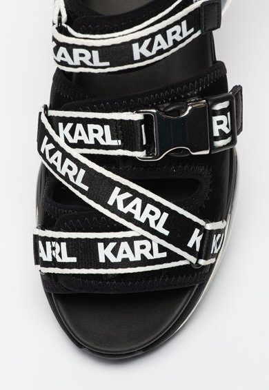 Karl Lagerfeld Sandale wedge cu model logo Ventura 2 Femei