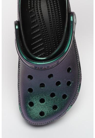 Crocs Saboti slingback cu calapod lat si perforatii Classic Femei