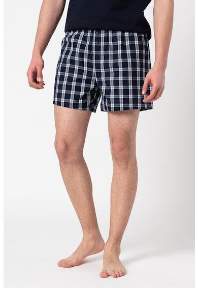 ESPRIT Bodywear Set de boxeri cu model in carouri Chicago - 2 perechi Barbati