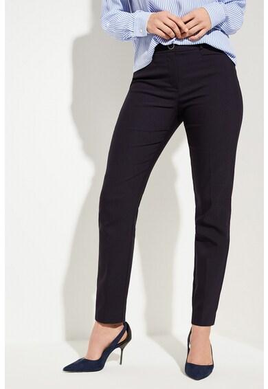 comma, Pantaloni chino din amestec de bumbac Femei